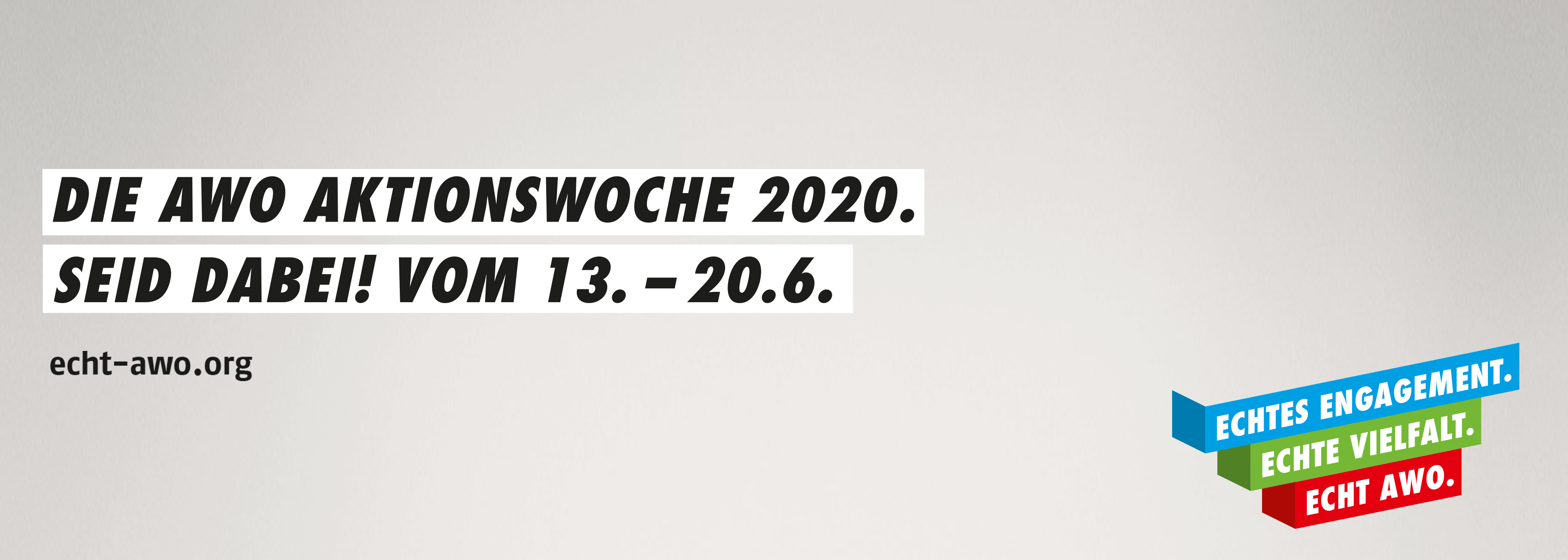 Aktionswoche 2020