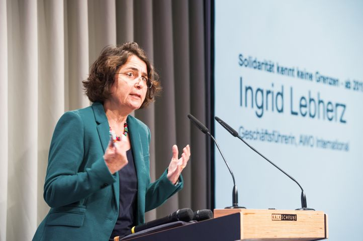 Ingrid Lebherz von AWO INternational